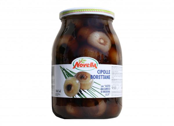 Borettane Zwiebeln in Balsamessig aus Modena g.g.A., 1062 ml