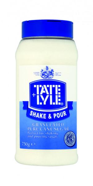 Shake & Pour weißer Rohrzucker, 750 g