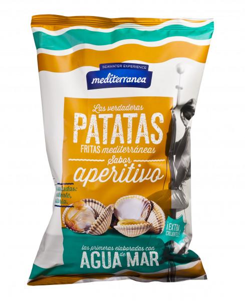 Kartoffel-Chips Aperitivo, mit Meerwasser gesalzen, 130 g