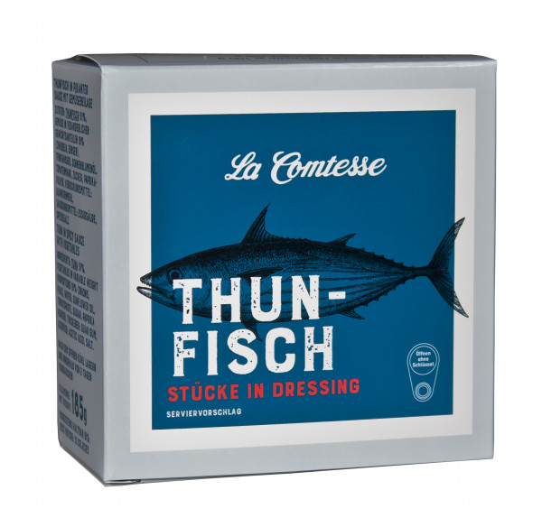 Thunfischsalat in Dressing, 185 g