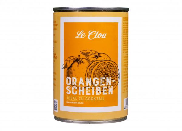 Orangenscheiben ohne Schale, 425 g