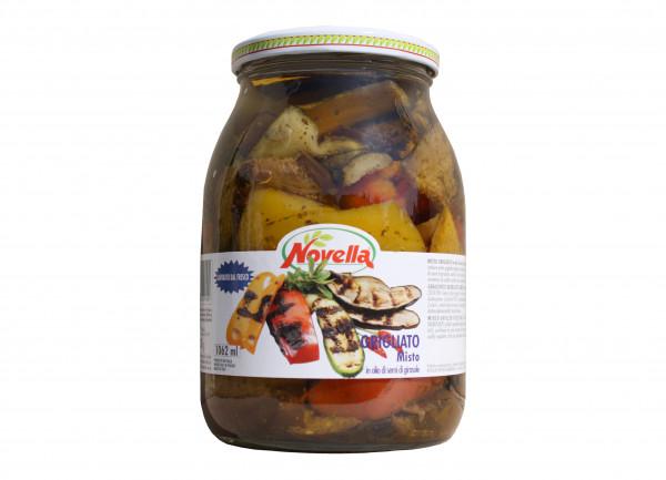 gegrilltes, gemischtes Gemüse in Öl, 1062 ml