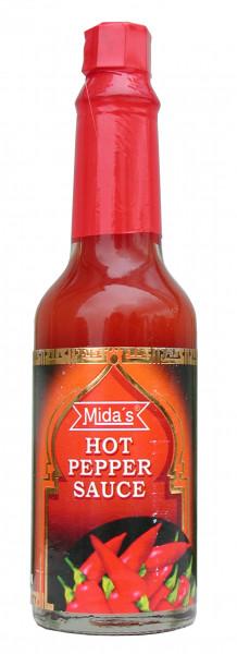 Pfeffersauce, rot, scharf, 60 ml