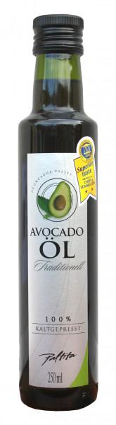 Avocado Öl, kaltgepresst