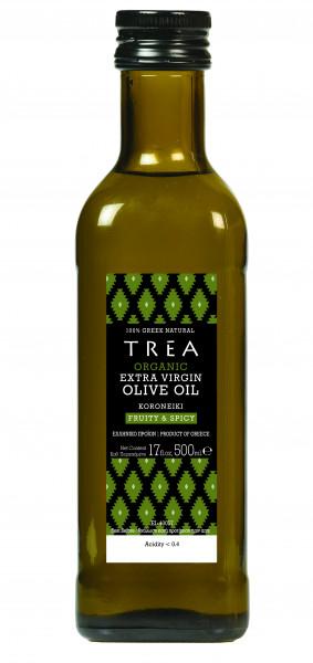 Griechisches Premium BIO Oliven Öl, extra vergine, aus Koroneiki-Oliven, 500 ml