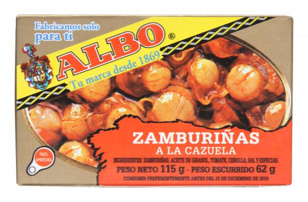 Zamburinas, bunte Kammmuschel, 115 g