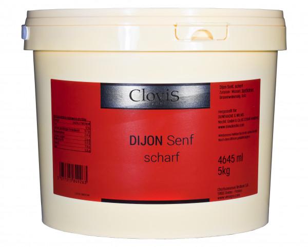 Dijon-Senf, scharf, 4645 ml