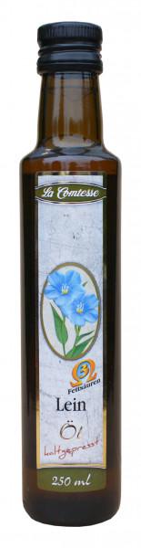 Lein- Öl, kaltgepresst, 250 ml