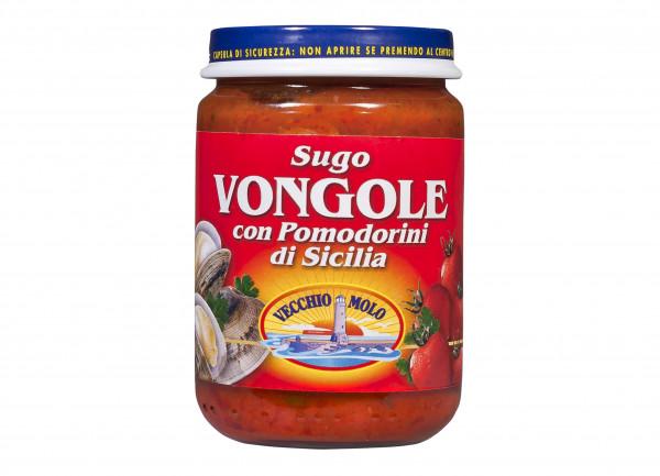 Sugo mit Muscheln, ital. Pasta-Sauce mit Muscheln, 130 g