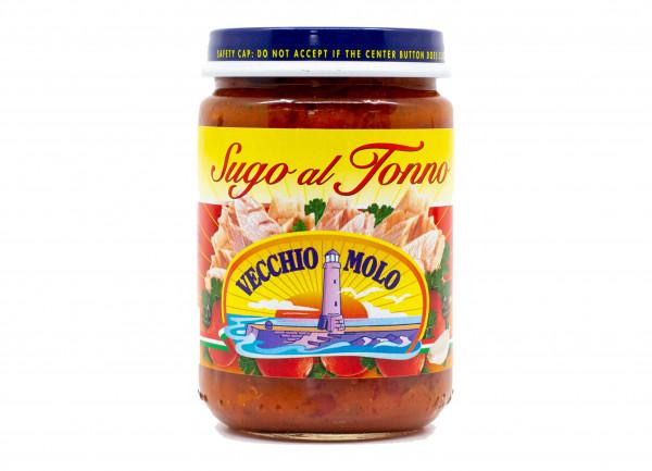 Sugo mit Thunfisch, ital. Pasta-Sauce mit Thunfisch, 130 g