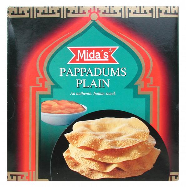 Pappadums, naturell, 110 g