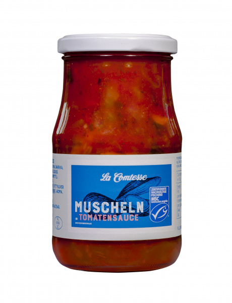 Muscheln in Tomatensauce, 350 g