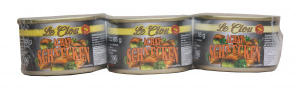 Achat-Schnecken,ca. 10 Dtzd., 3-er Set