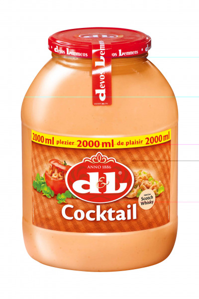 Cocktail Sauce PET, 2000 ml