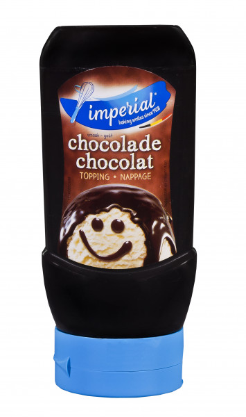 Kakao-Sauce für Eis & Desserts in der praktischen Squeezeflasche, 290 ml