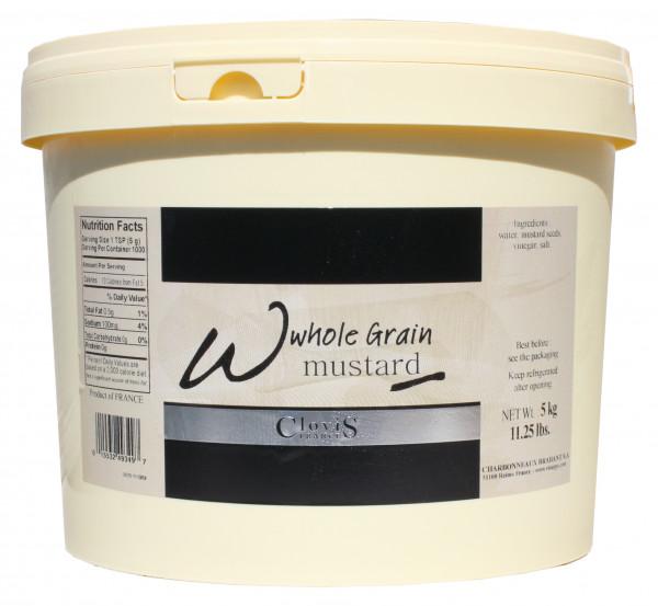 Senf, weiß, körnig, 4615 ml
