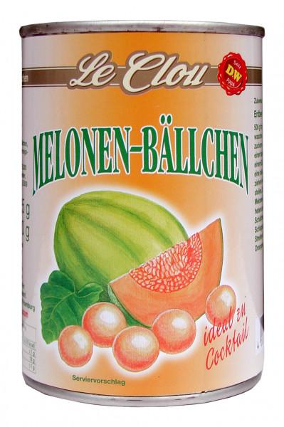 Melonenbällchen gezuckert, 425 g