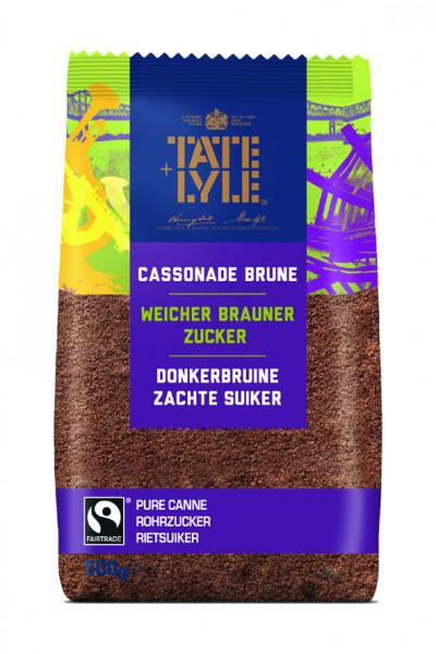 Dark Brown Soft Sugar, Fair Trade, 500 g