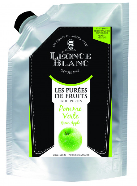 Grüner Apfel - Frucht-Püree, 1000 g