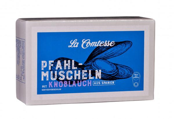 Pfahlmuschuscheln mit Knoblauch, 110 g