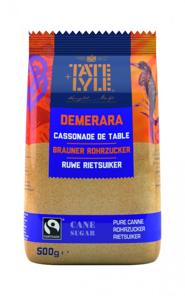 Demerara Rohrzucker braun, Fair Trade, 500 g