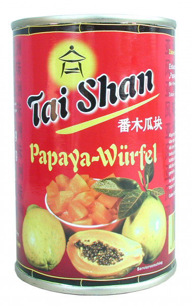 Papaya, gewürfelt, 425 g
