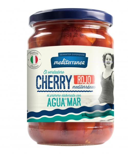 Cherry-Tomaten rot in Meerwasser eingelegt, 350 g