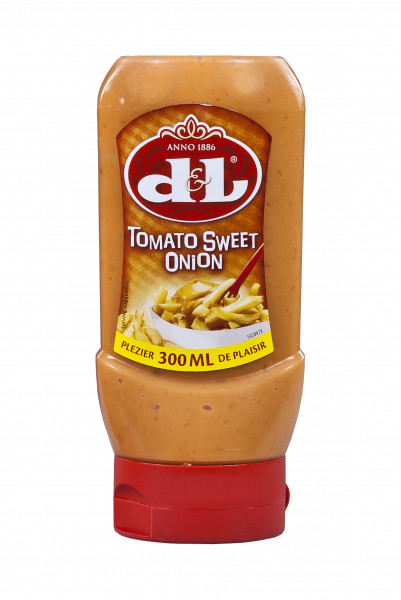Tomato-Sweet-Onion Sauce in der praktischen Squeeze-Flasche, 300 ml