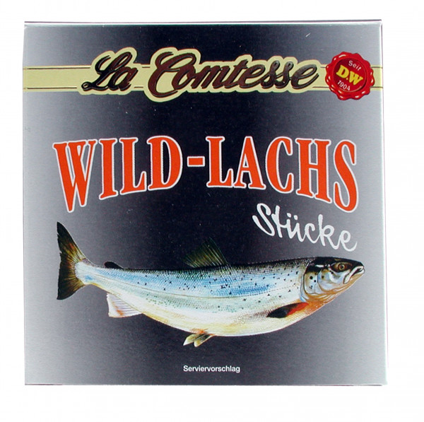 Lachs, Stücke gekocht, pink Salmon, 213 g