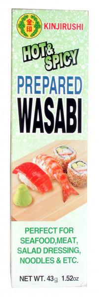 Wasabi-Paste, Meerrettich grün, 43 g