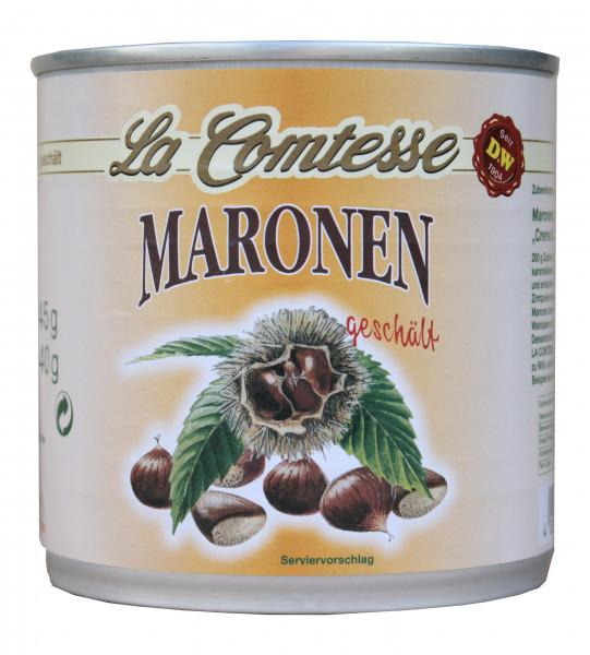 Maronen, ganz geschält, 240 g