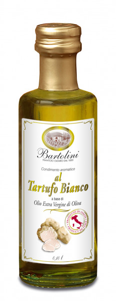 Oliven Öl extra mit weißen Trüffeln, 100 ml