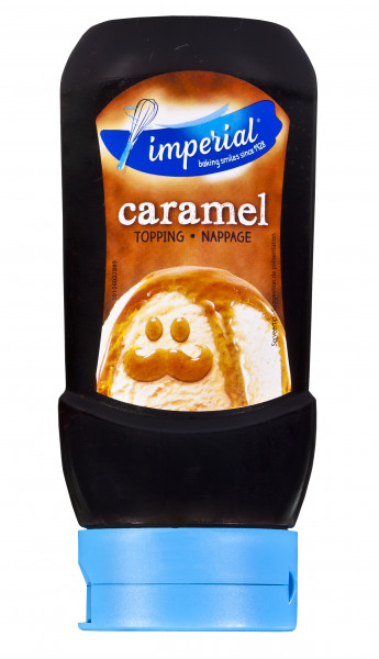 Caramel-Sauce für Eis & Desserts in der praktischen Squeezeflasche, 290 ml