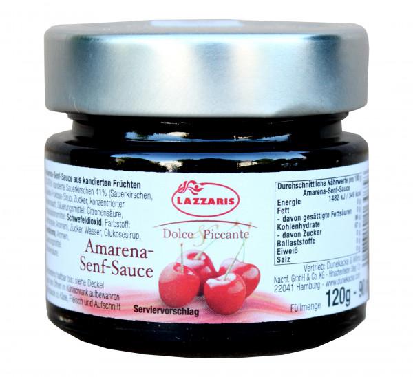 Amarena-Kirschen-Senf-Sauce, 120 g