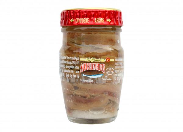 Sardellenfilets in Salzlake, 78 g