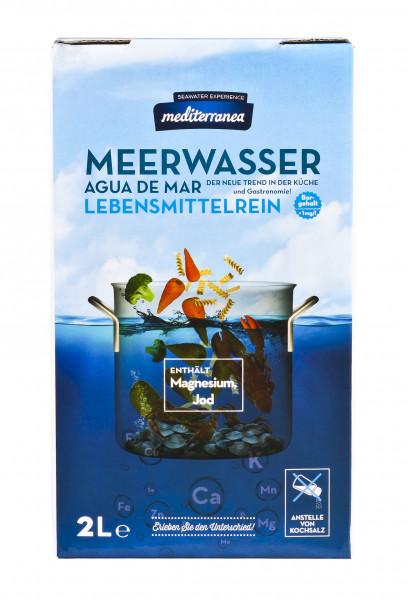 Meerwasser zum Kochen, 2 l