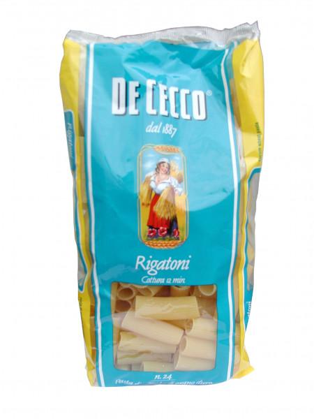 Rigatoni Nr. 24, Röhrchen gerippt, 500 g