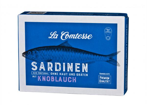 Sardinen Spezialität mit Konoblauch