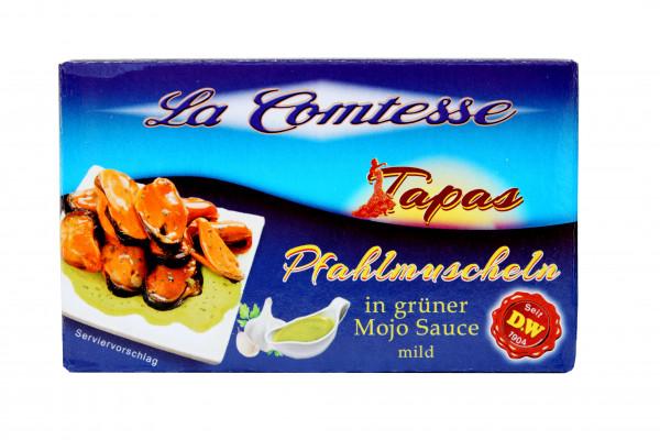 Pfahlmuschuscheln in grüner Mojo-Sauce, 110 g