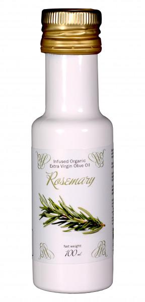 Bio Oliven Öl mit natürlichem BIO Rosmarinaroma, 100 ml