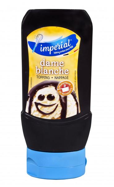 Dame-Blache-Sauce für Eis & Desserts in der praktischen Squeezeflasche, 290 ml