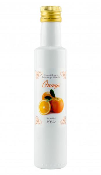 Bio Oliven Öl mit natürlichem BIO Orangenaroma, 250 ml
