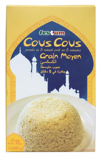 Couscous naturell, 2 x 250 g