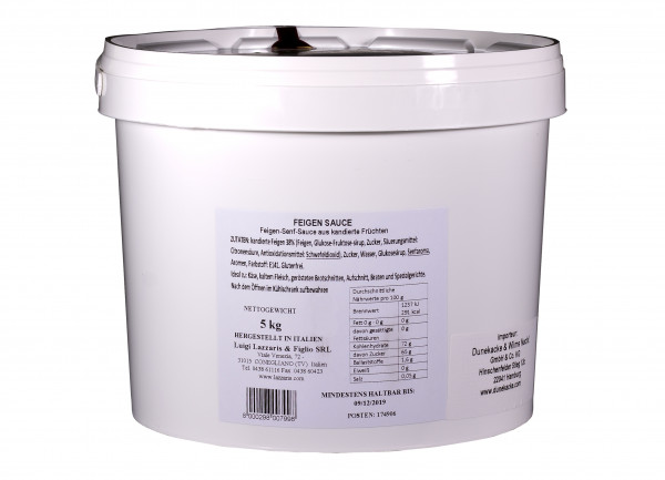 Feigen-Senf-Sauce, 5 kg