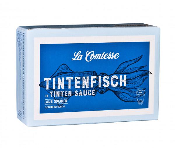 Calmar in würziger Tinten-Sauce, 110 g