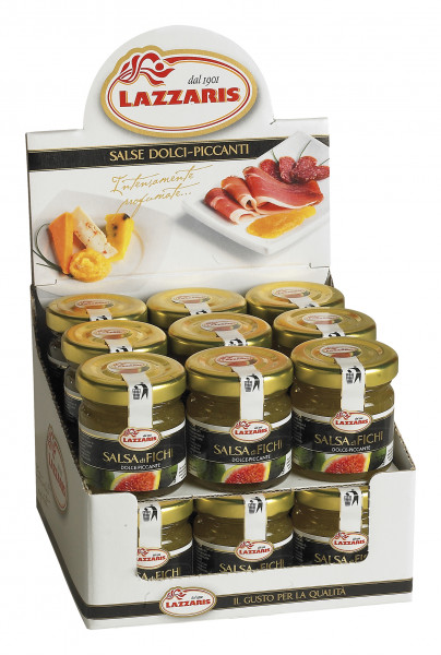 Feigen-Senf-Sauce, Thekenaufsteller 36 x 50 g
