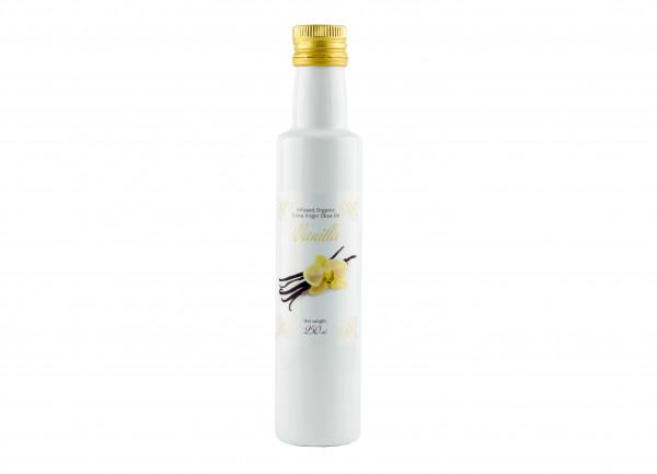 Bio Oliven Öl mit natürlichen BIO Vanillearoma, 250 ml