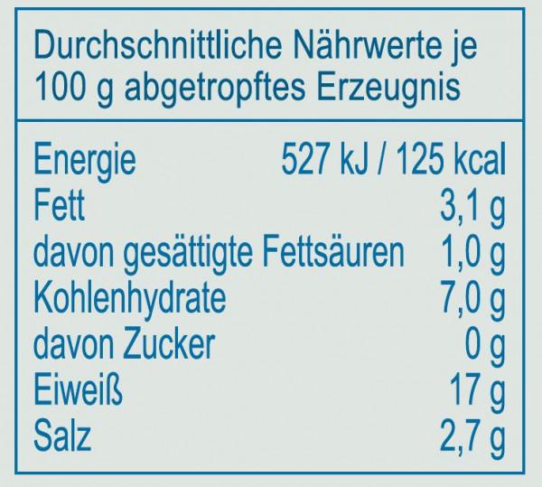 Seemuscheln in Salzlake, 350 g