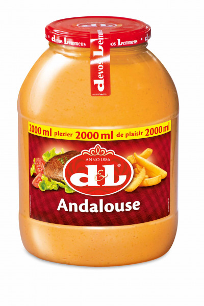 Andalouse Sauce PET, 2000 ml