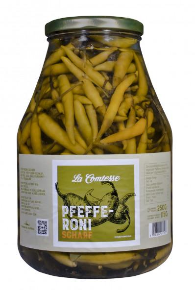 Pepperoni, scharf, 2500 g